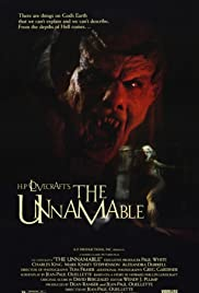 The Unnamable Poster