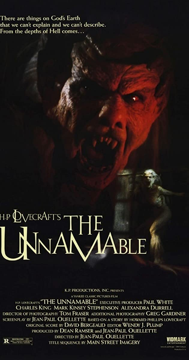 Subtitle of The Unnamable