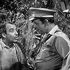 Lon Chaney Jr., Tom Conway, and Martin Garralaga in Bride of the Gorilla (1951)