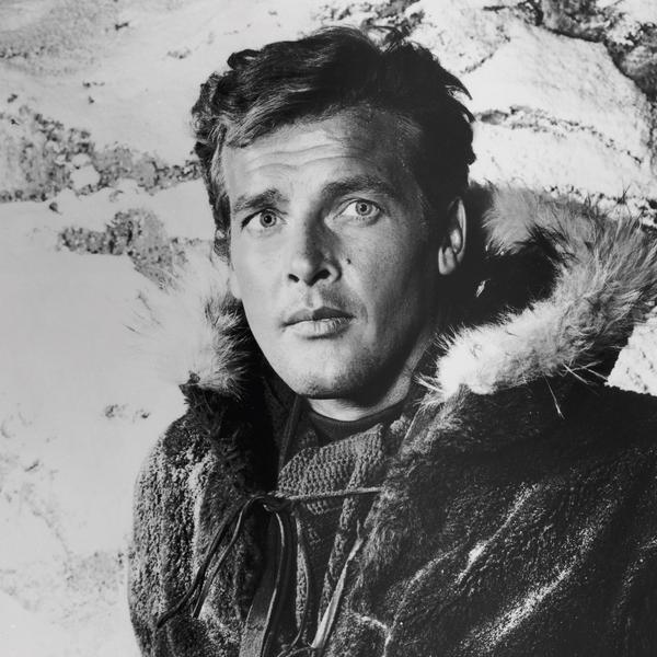 Image result for roger moore in the alaskans