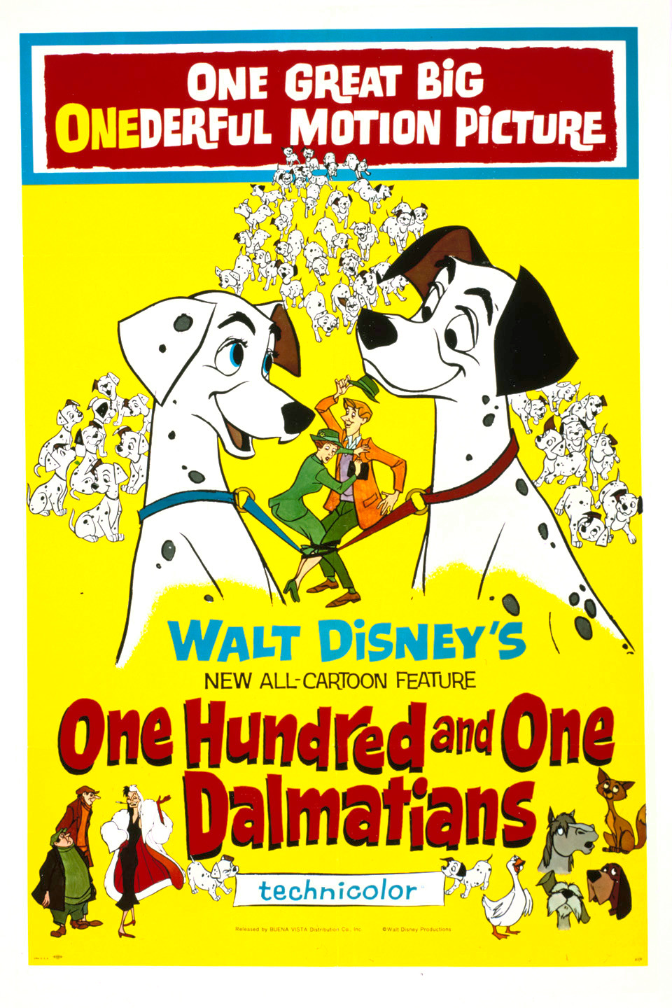 One Hundred and One Dalmatians (1961) BluRay 480p, 720p & 1080p