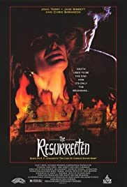 The Resurrected (1991) starring John Terry on DVD on DVD
