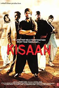 Jackie Shroff, Arbaaz Khan, Sohail Khan, Puneet Sira, Dia Mirza, Nauheed Cyrusi, and Vekeana Dhillon in Kisaan (2009)