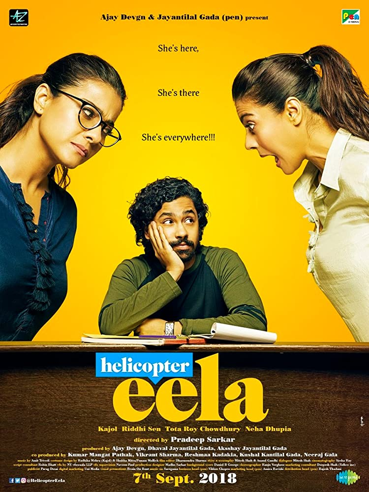 Helicopter Eela 2018 Hindi 720p HDRip x264 700MB