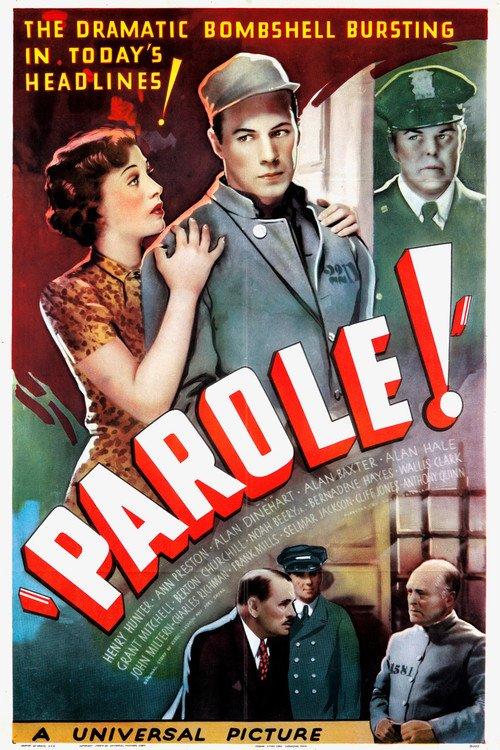Wallis Clark, Henry Hunter, and Ann Preston in Parole! (1936)