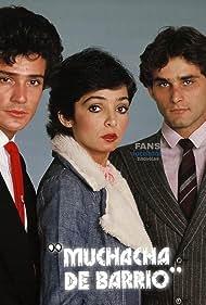 René Casados, Ana Martín, and Humberto Zurita in Muchacha de barrio (1979)