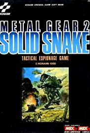 Metal Gear 2: Solid Snake Poster
