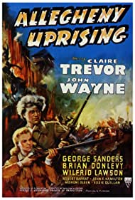 John Wayne and Claire Trevor in Allegheny Uprising (1939)