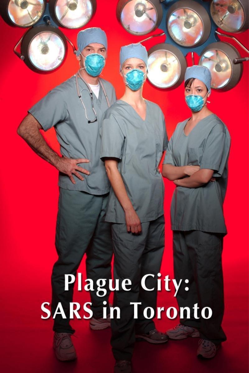 Kari Matchett, Rick Roberts, and Ron White in Plague City: SARS in Toronto (2005)