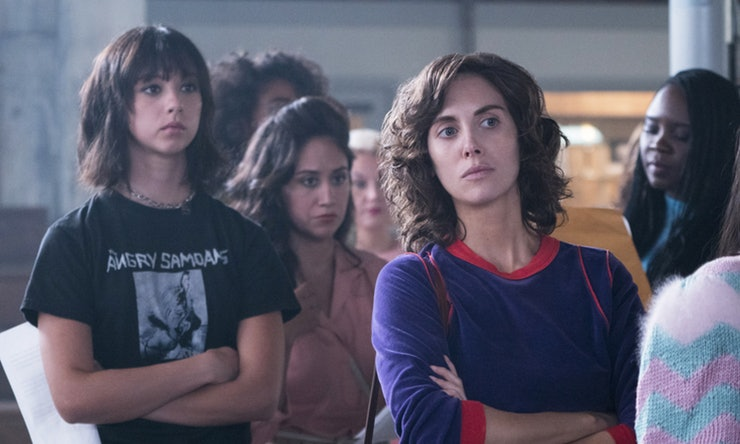 Alison Brie and Britt Baron in GLOW (2017)