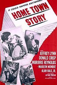Marilyn Monroe in Home Town Story (1951)