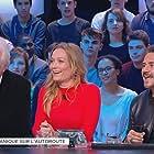 André Dussollier, José Garcia, and Caroline Vigneaux in Le grand journal de Canal+ (2004)