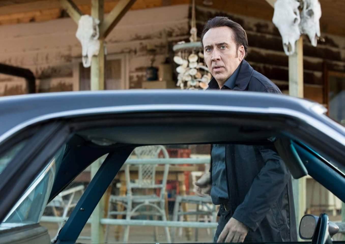 Nicolas Cage in The Humanity Bureau (2017)