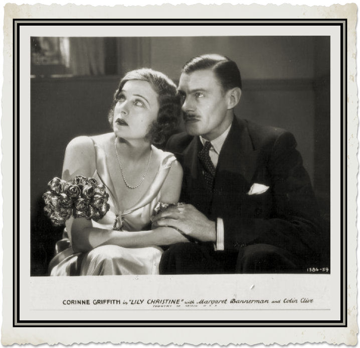 Colin Clive and Corinne Griffith in Lily Christine (1932)