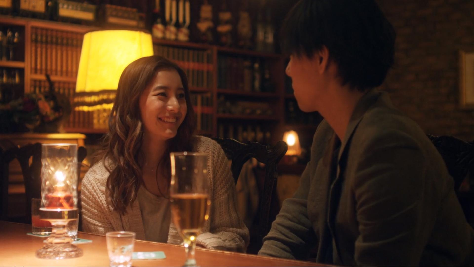 Yûko Araki and Yôjirô Noda in 1,000,000 yen no Onnatachi (2017)