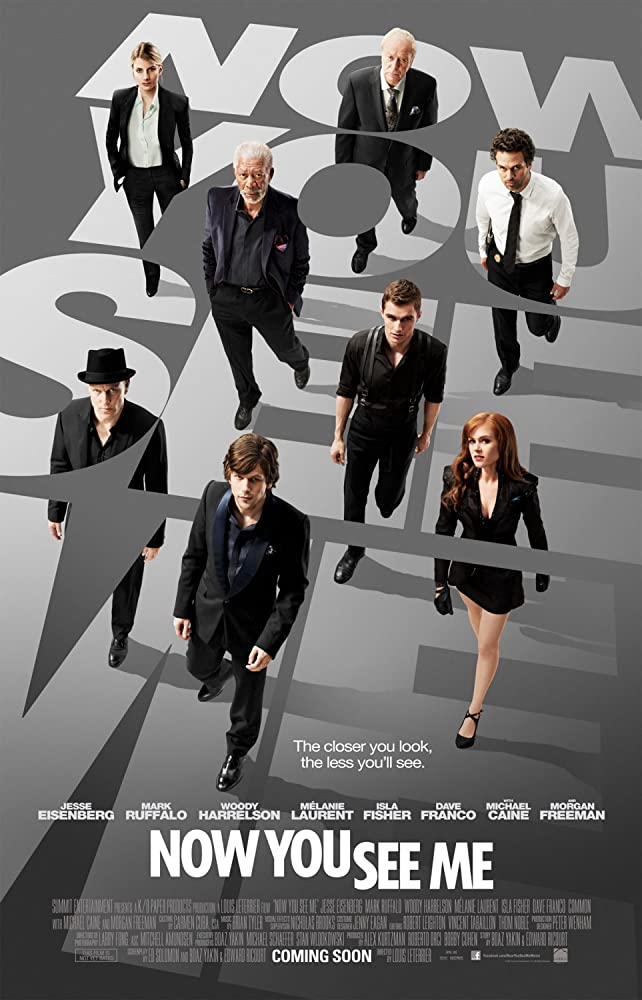 Now You See Me (2013) BluRay Dual Audio [Hindi + English] AAC