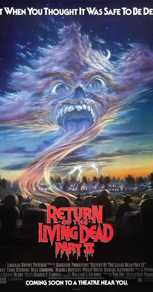 Subtitle of Return of the Living Dead II