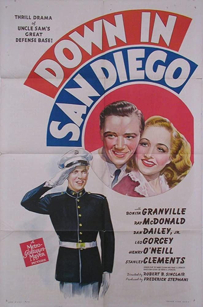 Dan Dailey, Bonita Granville, and Ray McDonald in Down in San Diego (1941)