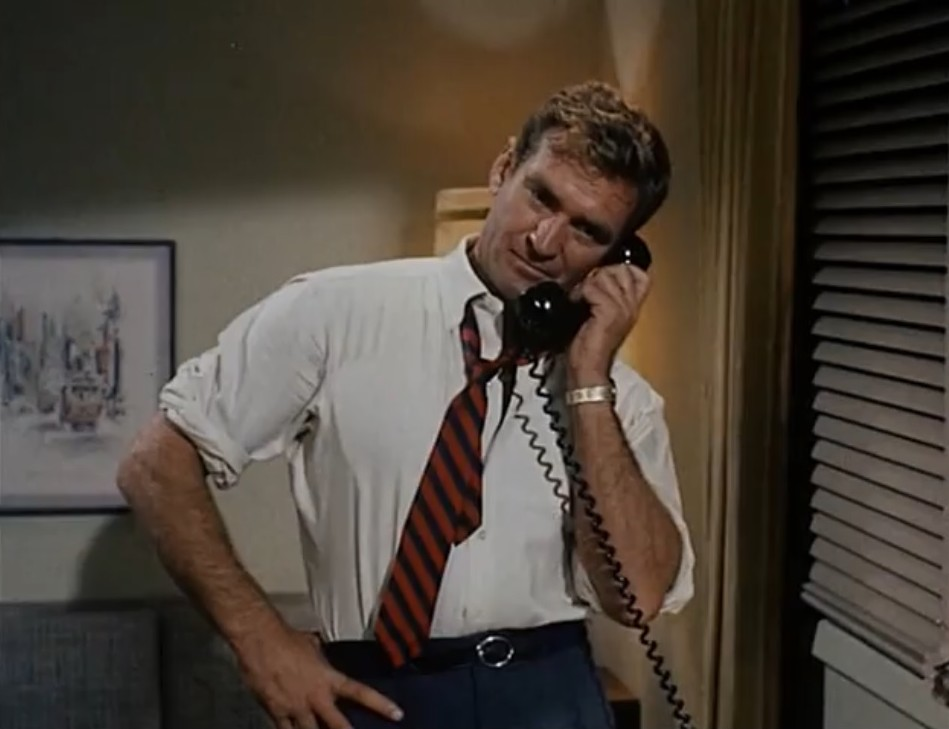 Rod Taylor in A Gathering of Eagles (1963)