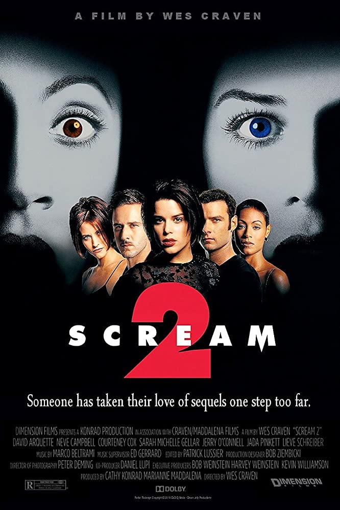 Scream 2 (1997) Dual Audio Hindi ORG 450MB BluRay 480p ESubs Download