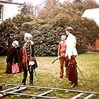 Philippe Clay, Jean-Pierre Delamour, Odette Laure, and Laurent Le Doyen in Le gerfaut (1987)