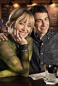 Hilary Duff and Adam Lamberg in Lizzie McGuire