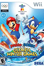 Mario & Sonic at the Olympic Winter Games Poster