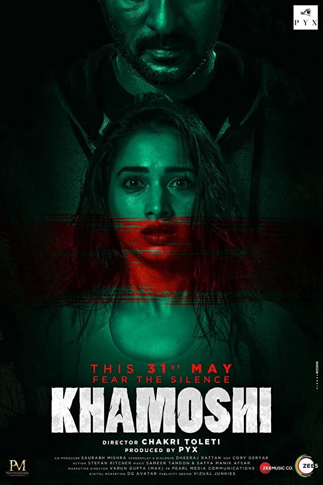 Khamoshi (2019) Hindi Movie Official Trailer Ft. Prabhu Deva & Tamannaah Bhatia HD