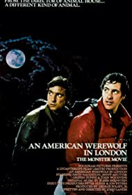 Griffin Dunne and David Naughton in An American Werewolf in London (1981)