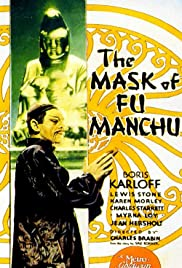 The Mask of Fu Manchu Poster