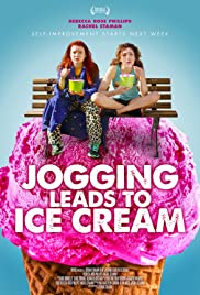 Jogging Leads to Ice Cream Poster