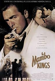 Antonio Banderas, Armand Assante, and Maruschka Detmers in The Mambo Kings (1992)