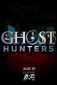 Grant Wilson, Kristen Luman, Mustafa Gatollari, and Brandon Alvis in Ghost Hunters (2004)