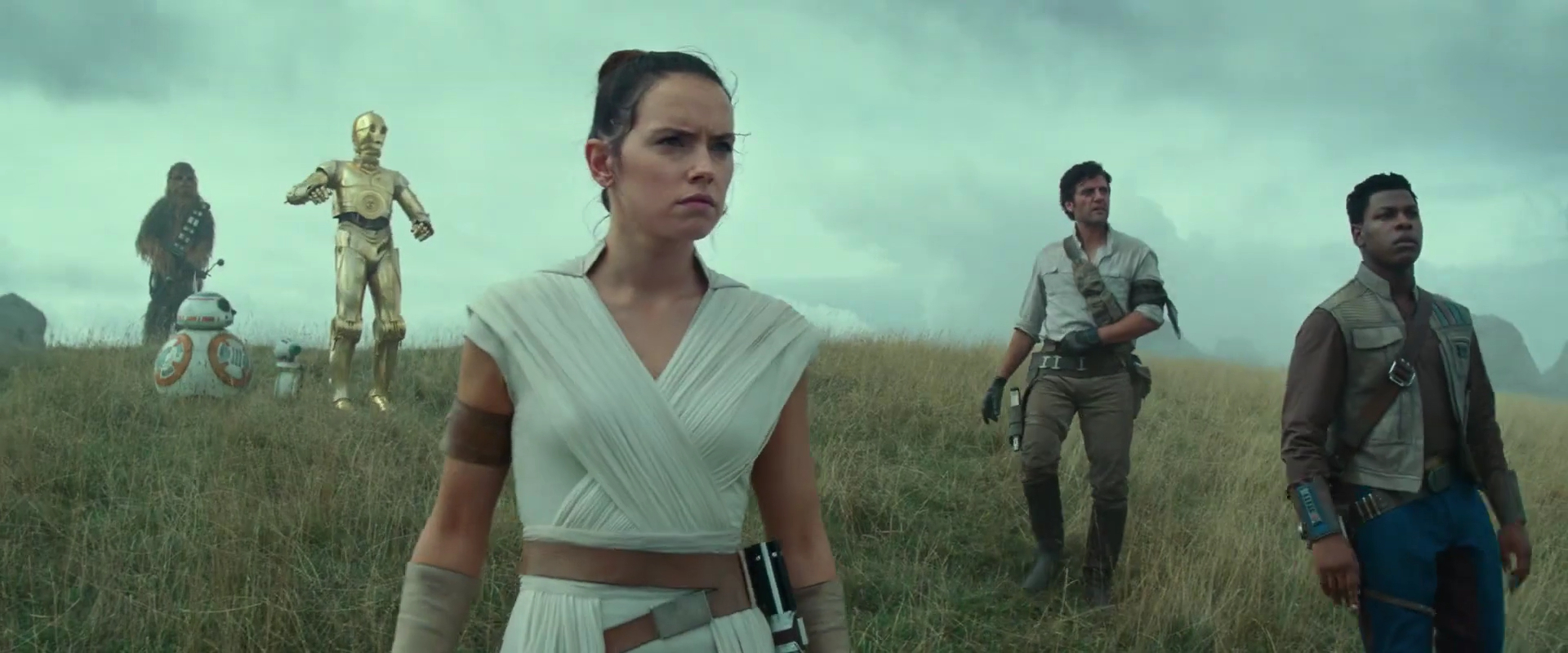 Rise of Skywalker, Rey and the gang
