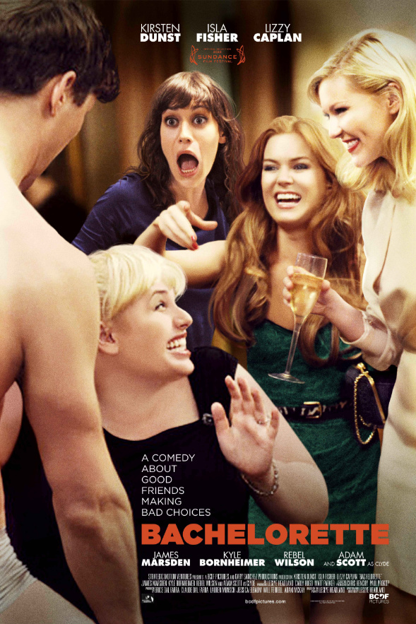 Kirsten Dunst, Lizzy Caplan, Isla Fisher, and Rebel Wilson in Bachelorette (2012)