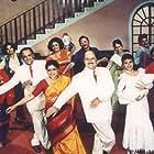Madhuri Dixit, Salman Khan, Mohnish Bahl, Anupam Kher, Reema Lagoo, Alok Nath, and Renuka Shahane in Hum Aapke Hain Koun...! (1994)