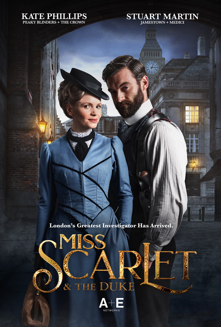 Miss Scarlet and the Duke (TV Series 2020– ) - IMDb