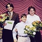 Gaurav Seth, Jameel Khaja, and Nabil Mehta at an event for A Passage to Ottawa (2001)