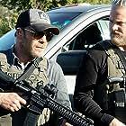 Stephen Dorff and Brian Van Holt in 10-8 Bulletproof (2020)