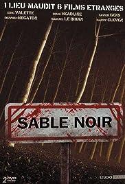 Sable noir Poster