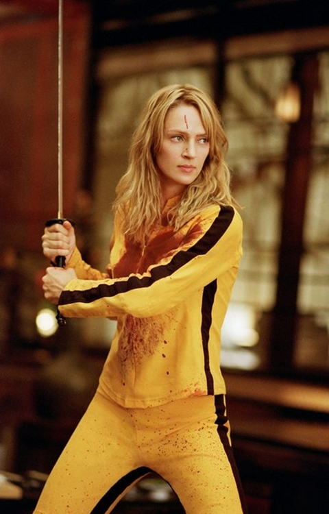 Uma Thurman in Kill Bill Vol 1 2003