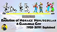 Evolution of Horace Horsecollar & Clarabelle Cow (1928-2019)