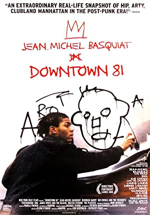 Downtown 81 poster