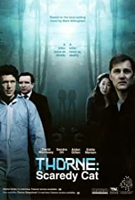 Aidan Gillen, Eddie Marsan, David Morrissey, and Sandra Oh in Thorne: Scaredycat (2010)