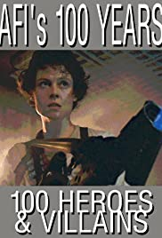 AFI's 100 Years... 100 Heroes & Villains Poster