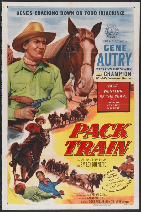 Gene Autry and Champion in Pack Train (1953)
