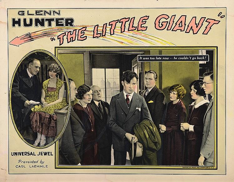James Bradbury Jr., David Higgins, Glenn Hunter, Jean Jarvis, Louise Mackintosh, Tom McGuire, Leonard Meeker, and Edna Murphy in The Little Giant (1926)
