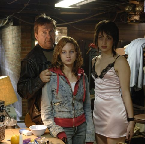 Rémy Girard and Laurence Leboeuf in Human Trafficking (2005)