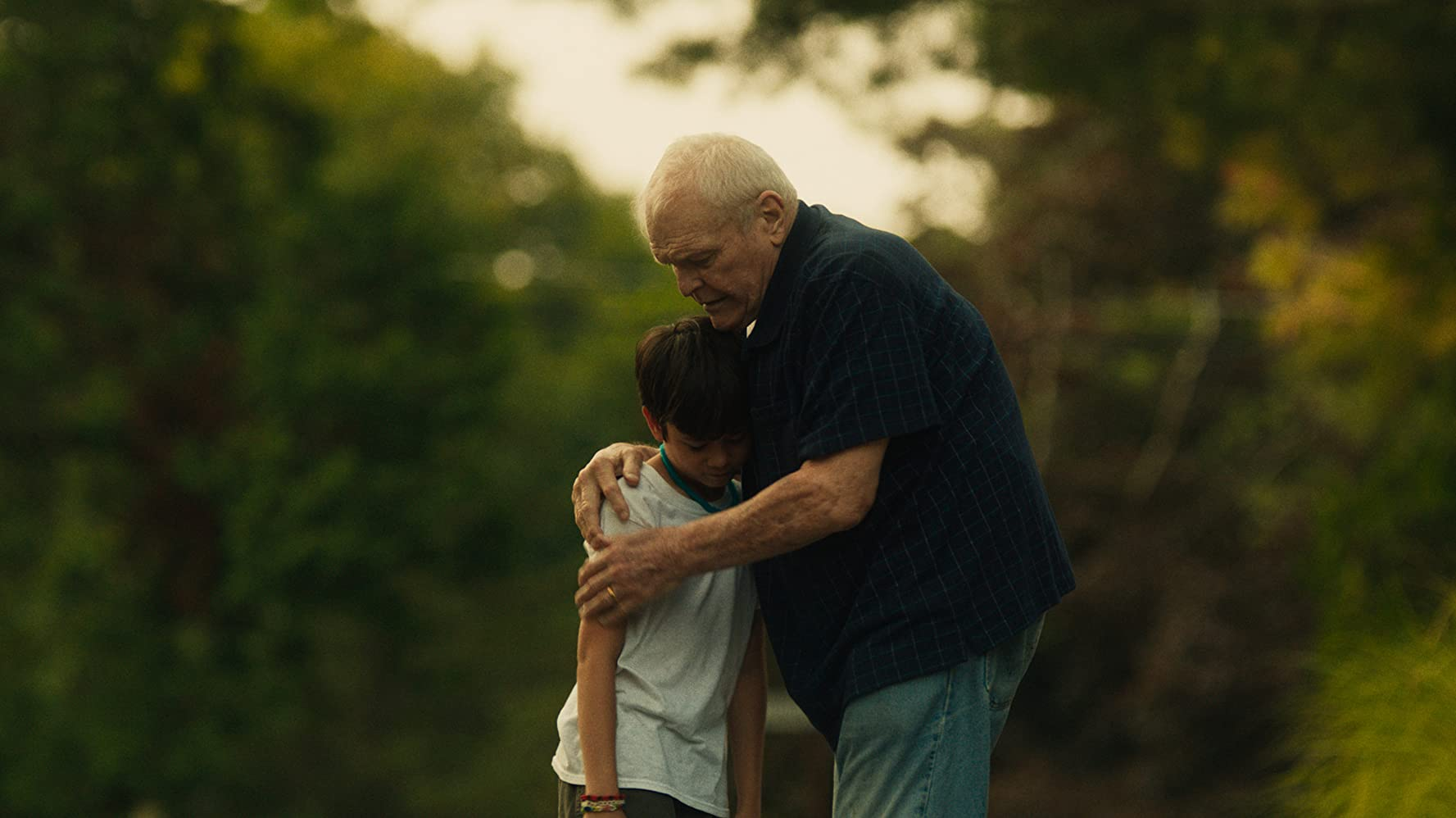 Brian Dennehy and Lucas Jaye in Driveways (2019)
