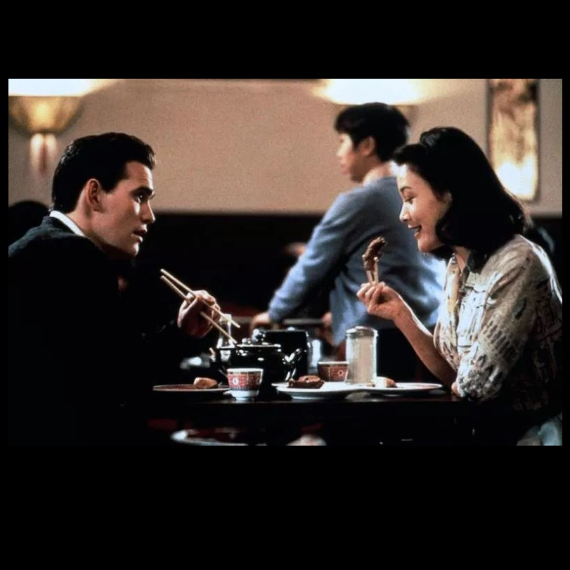 Matt Dillon and Joan Chen in Golden Gate (1993)
